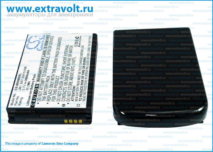 Усиленный аккумулятор 3000 mAh для смартфона Blackberry